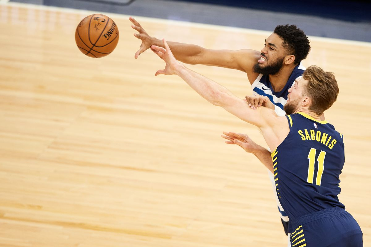 Indiana Pacers v Minnesota Timberwolves