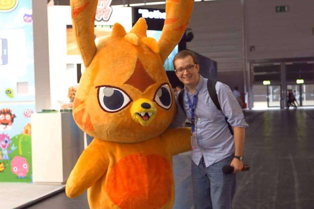 Griffin Gamescom 2012 Moshi Monster