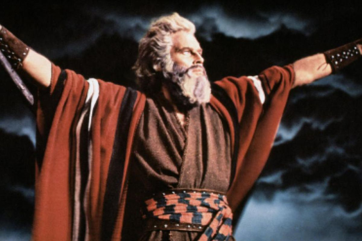 The Ten Commandments 7 10 Movie CLIP Moses Presents the ...  Moses The Movie Youtube
