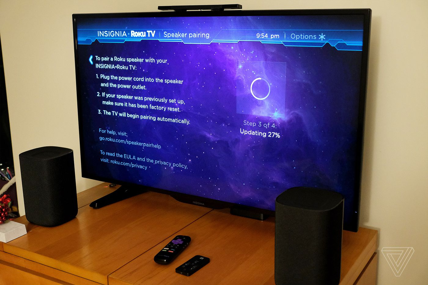 Roku Tv Wireless Speakers Review Easy Listening The Verge