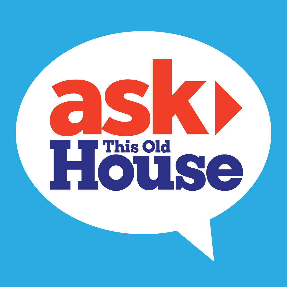 Ask This Old House podcast logo
