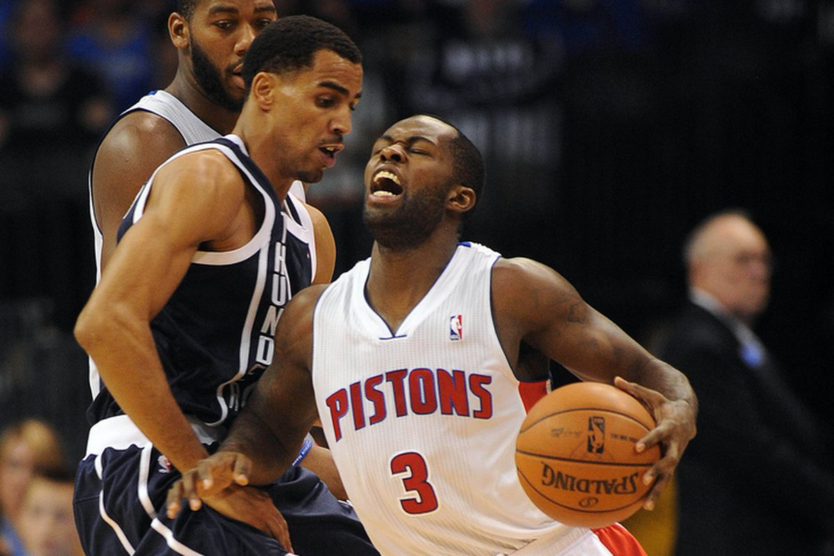 This is Rodney Stuckey after Thabo reminded him of his shooting percentage.