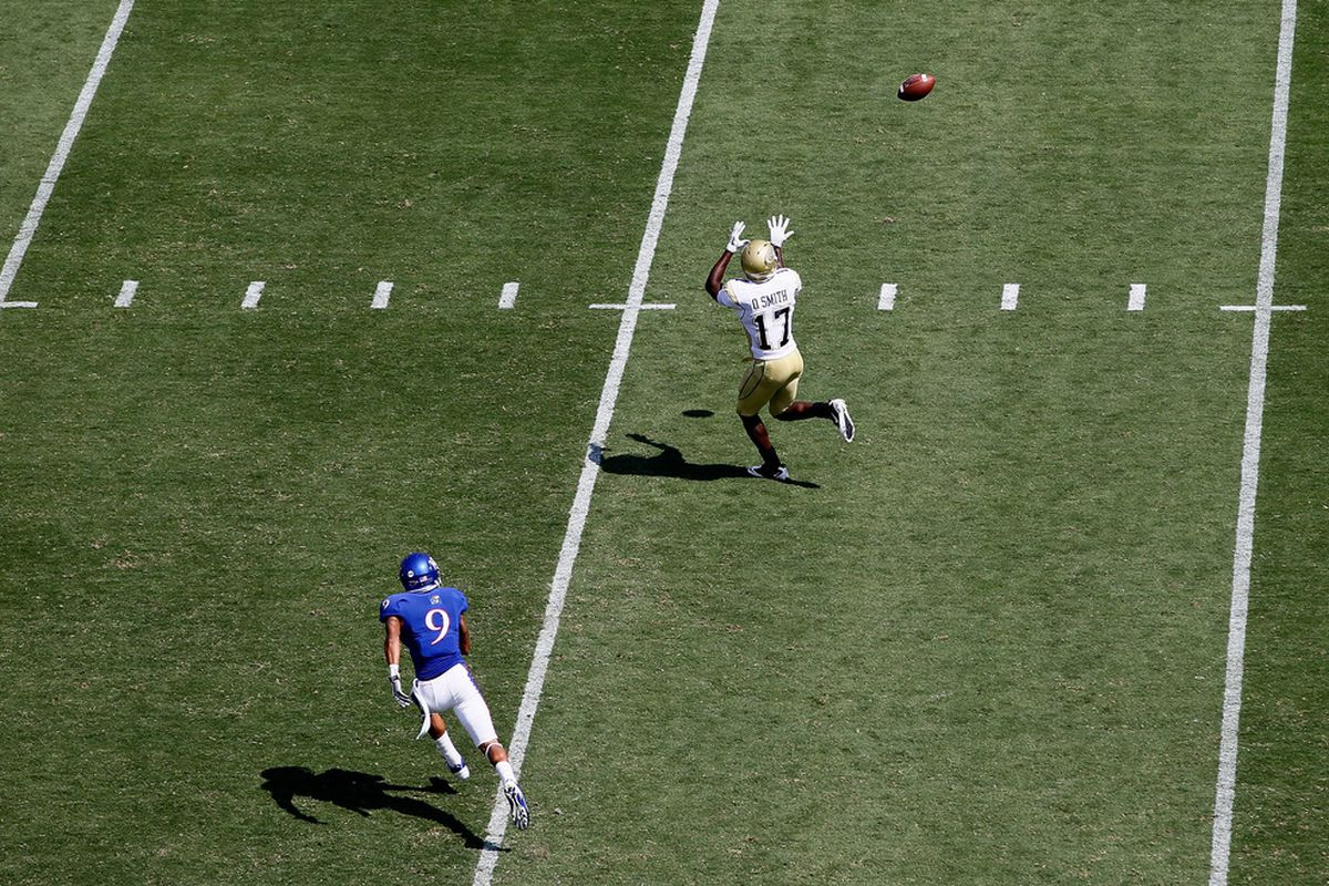 In Lawrence, this is considered tight coverage.