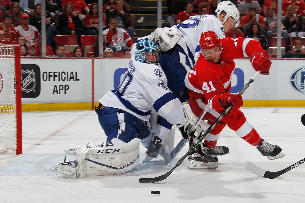 Tampa Bay Lightning v Detroit Red Wings - Game Three