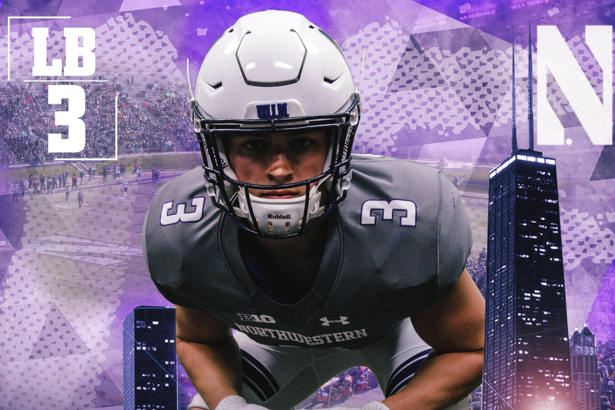 2019 linebacker Michael Jansey commits to Northwestern ...