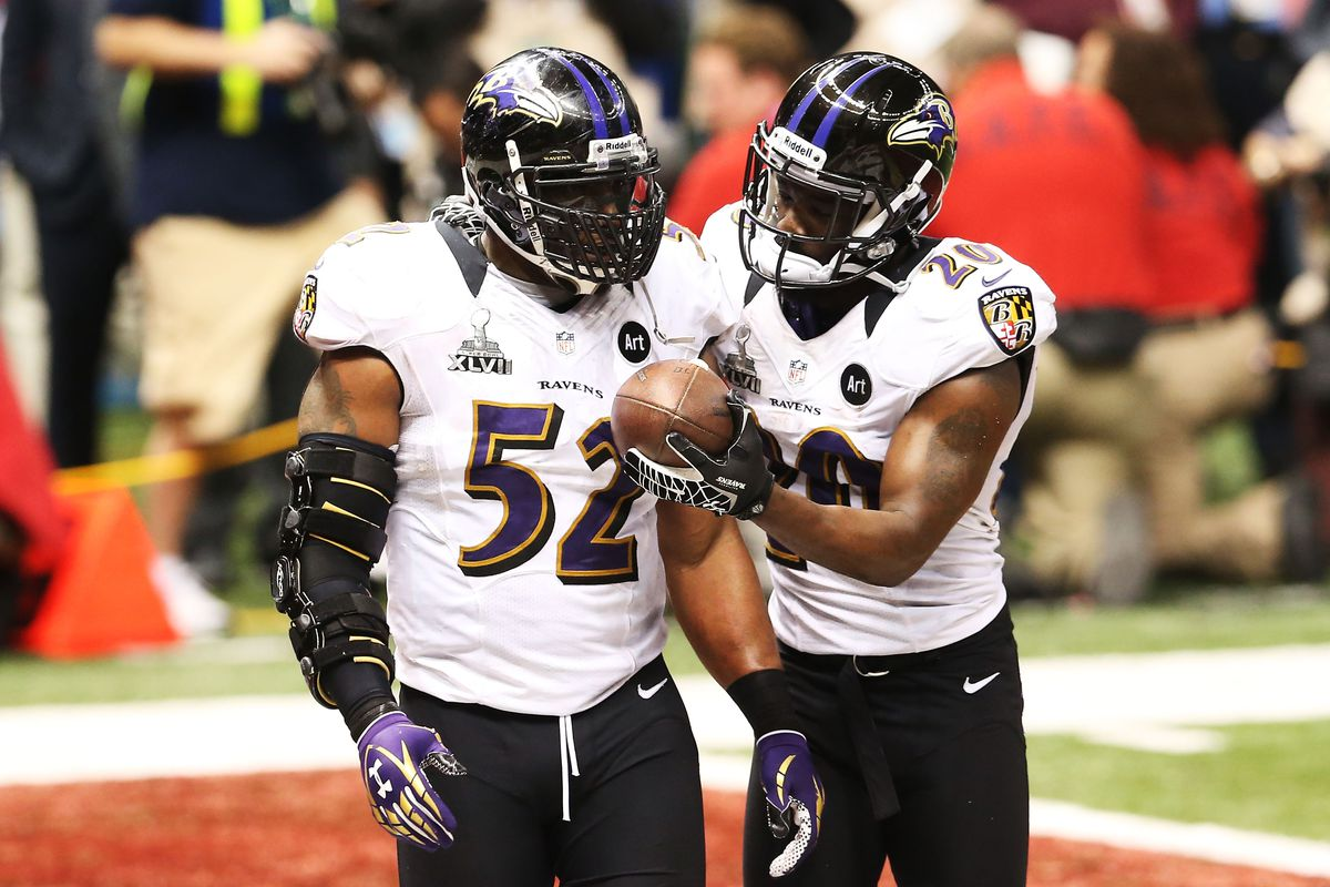 innovative design 8737c b5493 A pair of Ravens legends should be selected for the NFL Hall ...