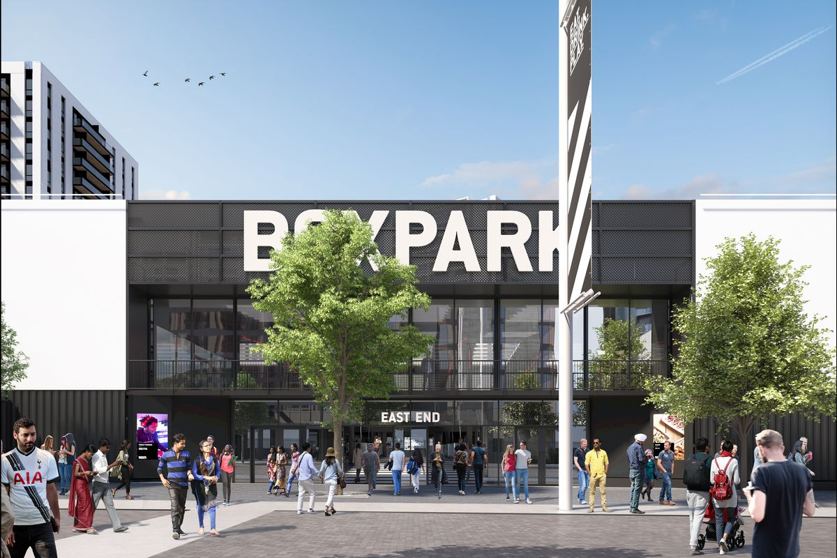 Boxpark Shoreditch Wembley And Croydon Plans New Shipping