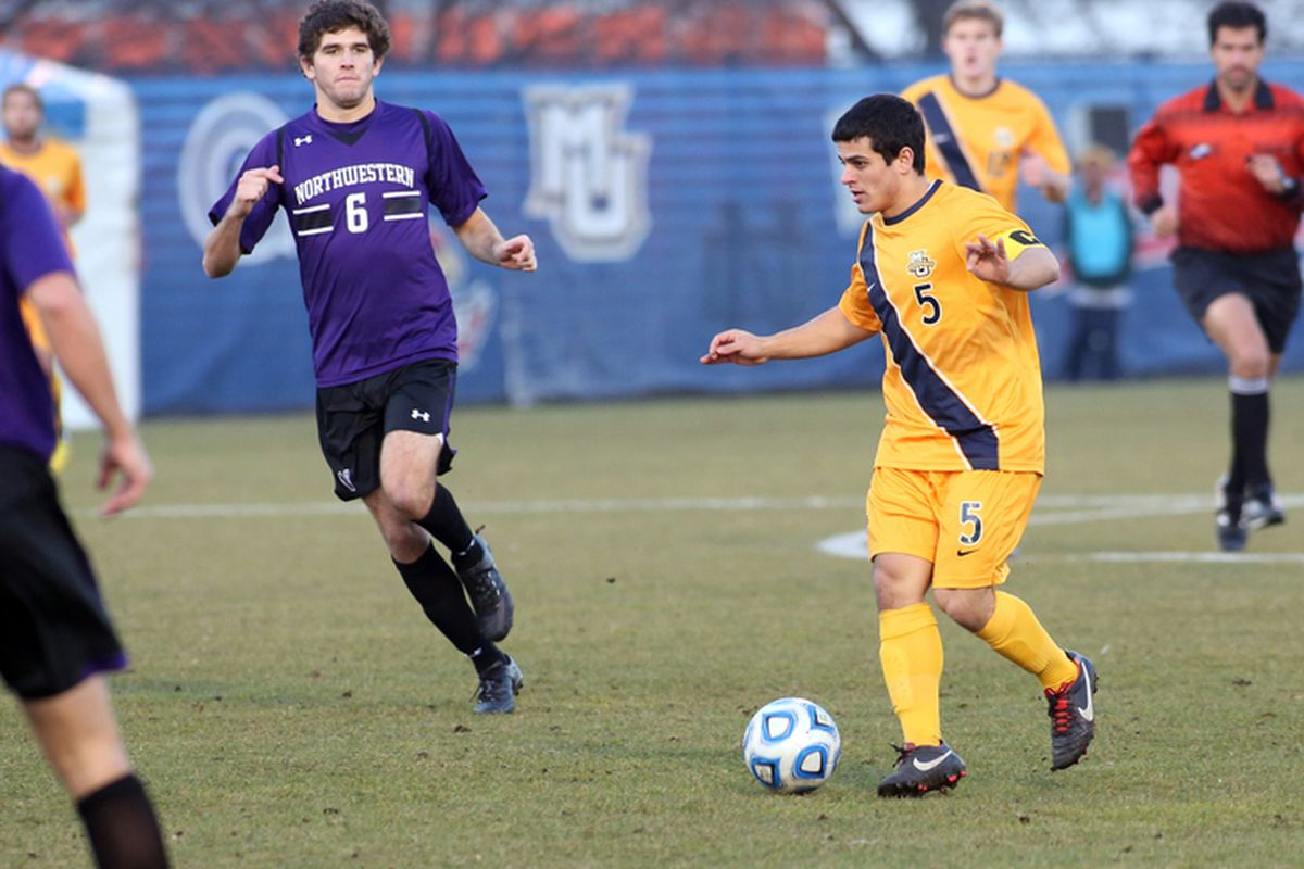 Marquette and Bryan Ciesiulka look for a better ending to 2013 than their 1-0 loss to Northwestern in 2012.