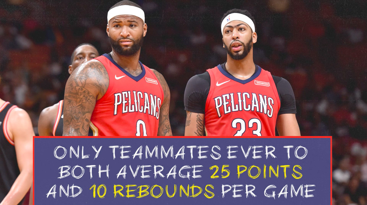 b263be4f9 Anthony Davis and DeMarcus Cousins are twin towers for a modern NBA ...