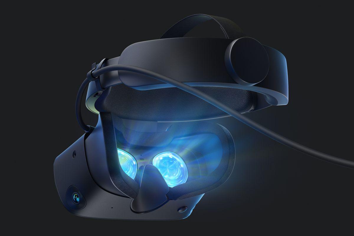 Oculus Rift S - shot of interior of headset