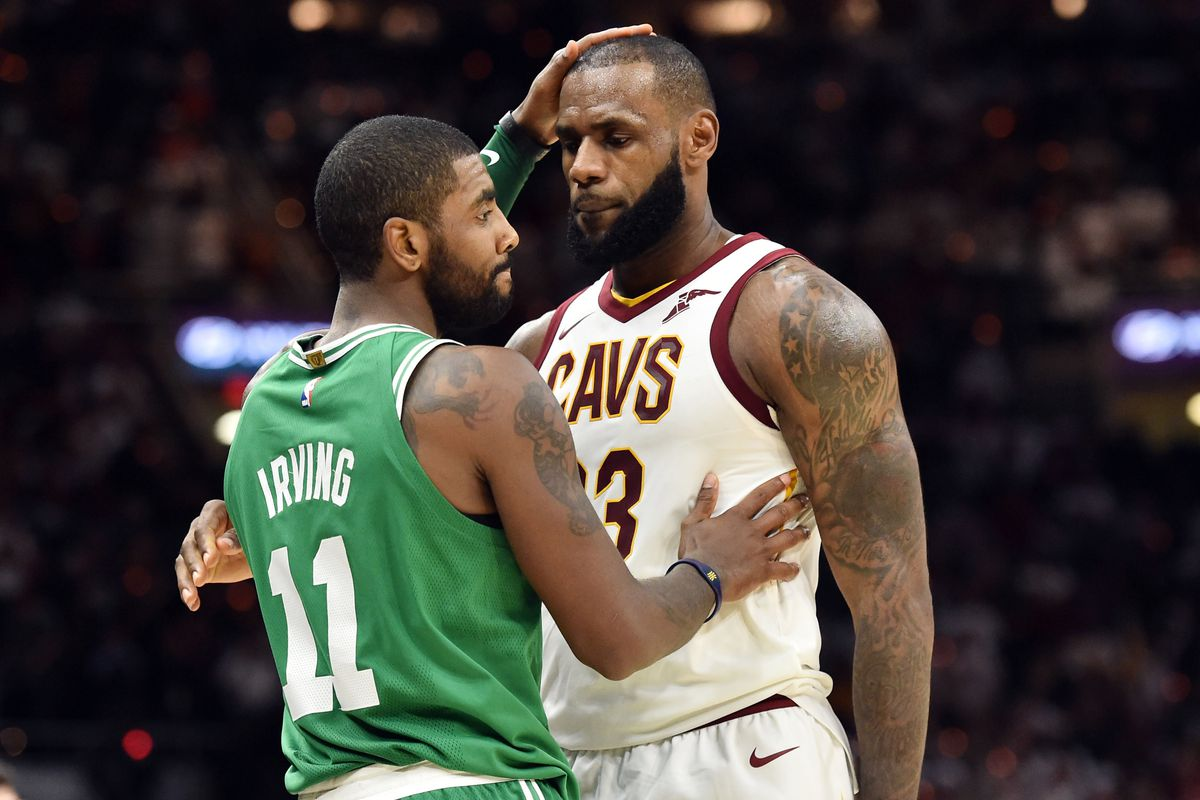 separation shoes 6e3a1 7bf93 NBA All-Star Game 2018: Kyrie Irving and LeBron James are ...
