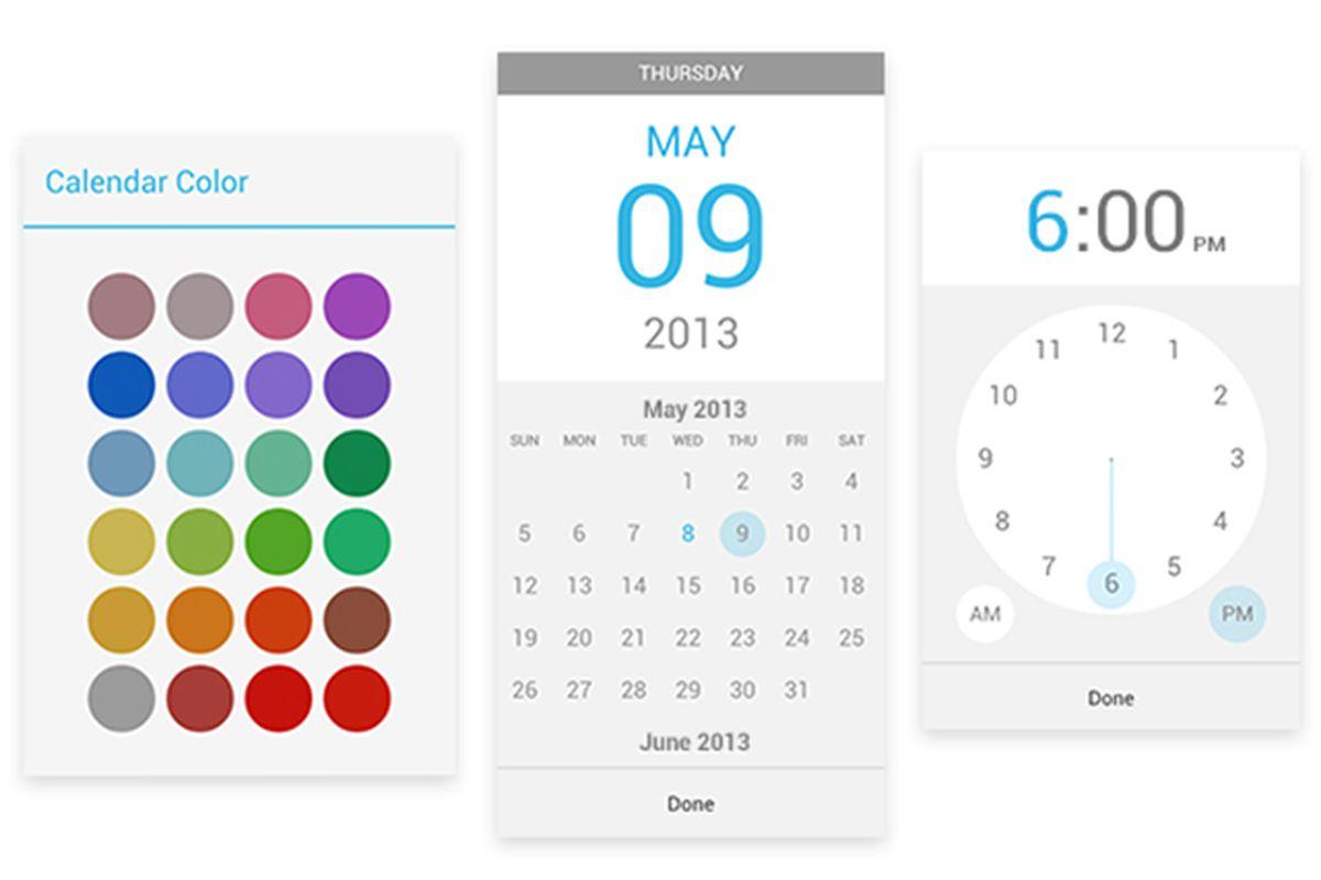 Google Calendar update