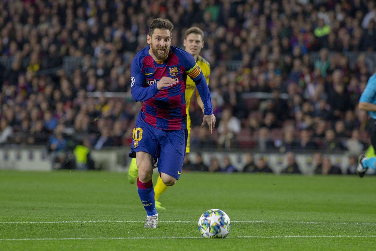 Barcelona V Borussia Dortmund