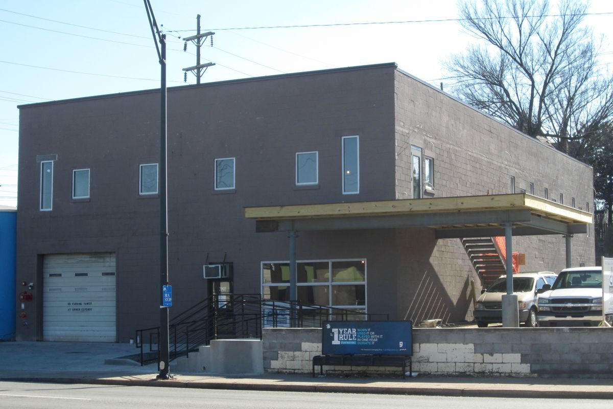 Former Allnite Glass Co. building