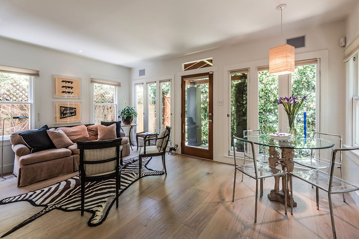 Remodeled 760 Square Foot Larchmont Bungalow Hits The Market Asking 699k Curbed La
