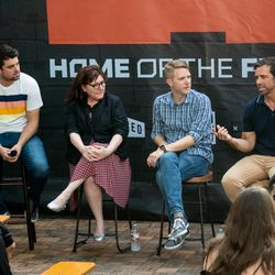 Private conversation on the Austin architecture scene, prefabs and smart home tech with: Dieter Bohn, executive editor of The Verge; Dan Seifert, senior editor of The Verge; Cindy Widner, Austin editor of Curbed; Chris Krager, Ma Modular; Matt Hawkey, Smarter Homes.