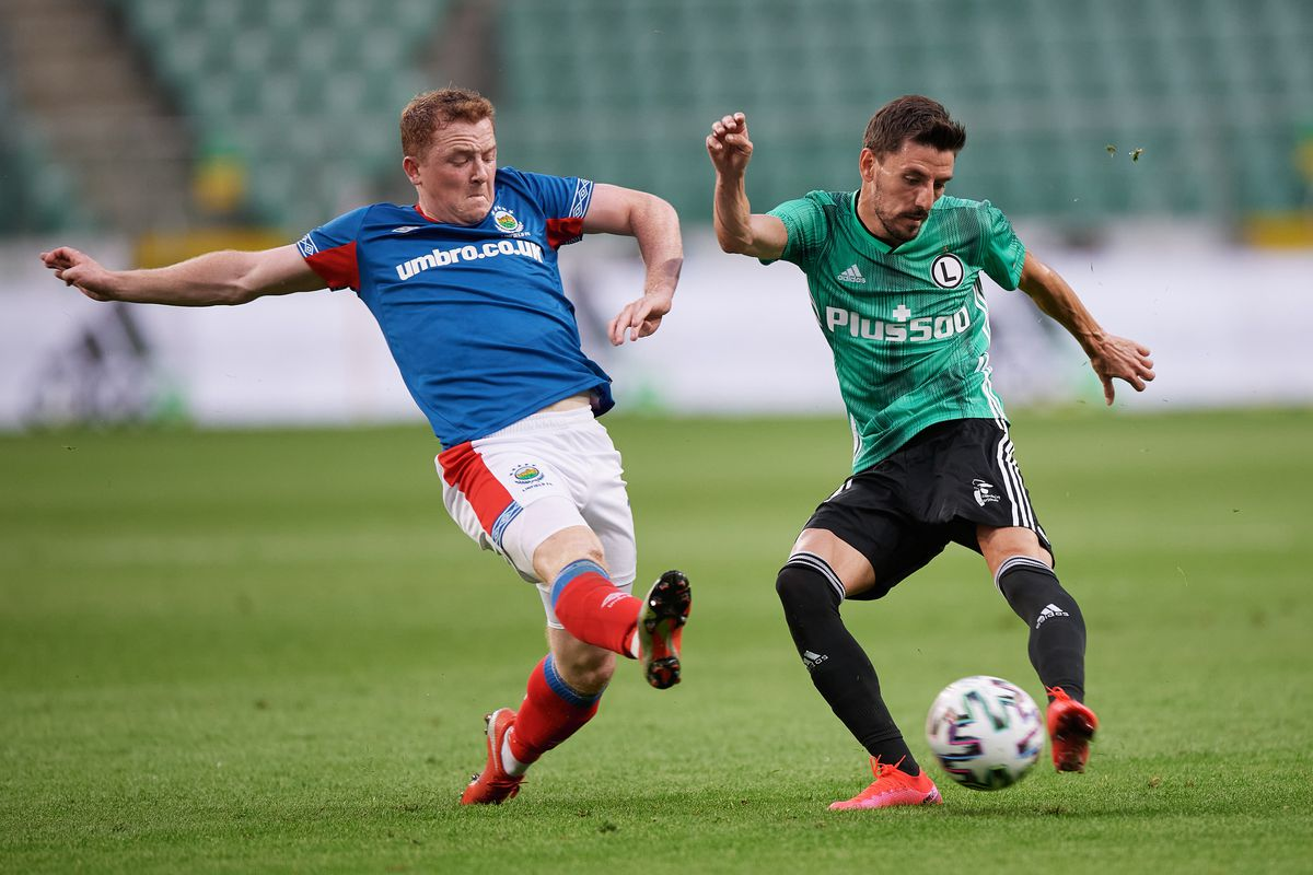 Legia Warsaw v Linfield - UEFA Champions League: First Qualifying Round