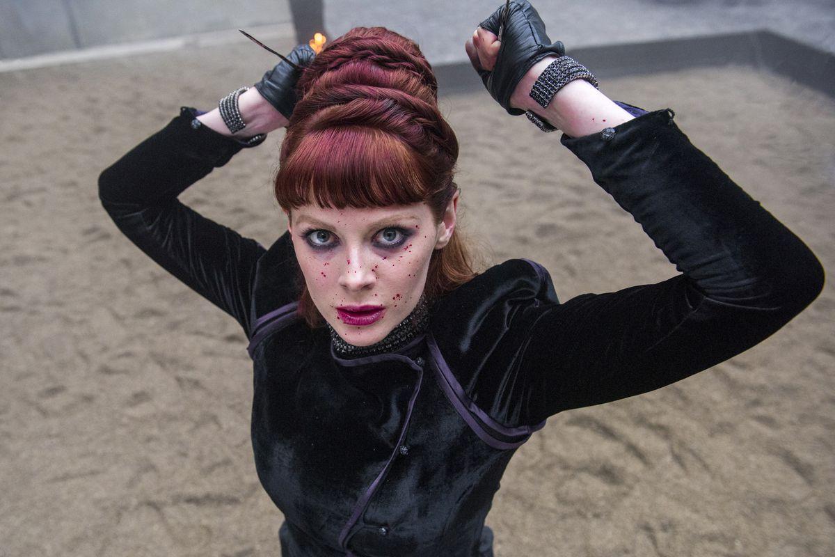 Emily Beecham on AMC's Into the Badlands.