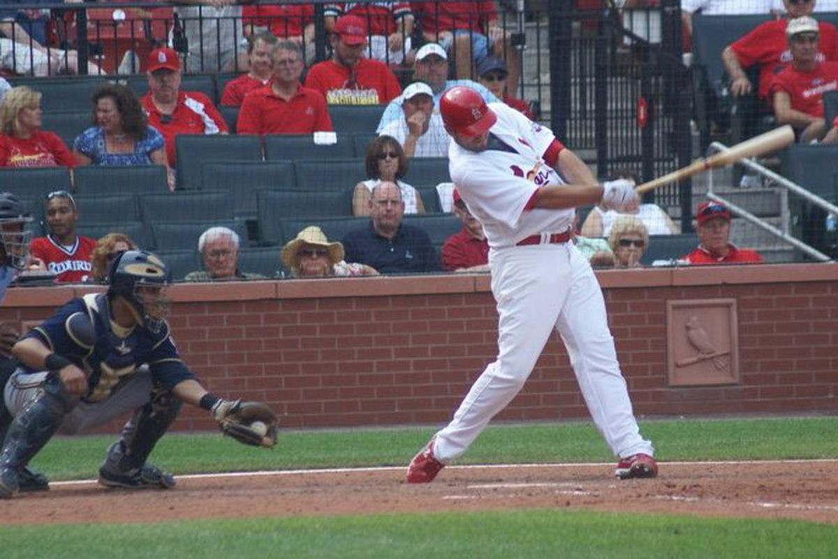 Troy Glaus takes a swing in anger. (photo courtesy momup)
