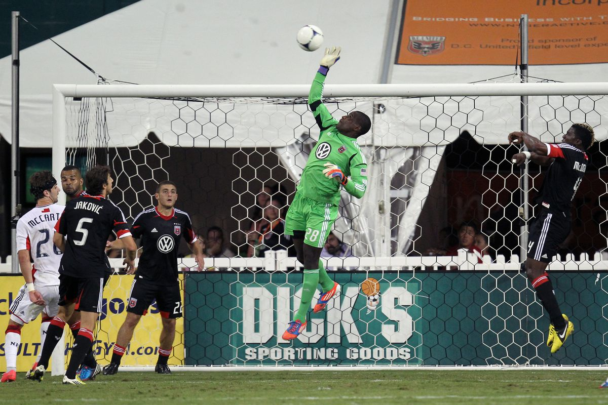 United needed some final heroics from Bill Hamid to win