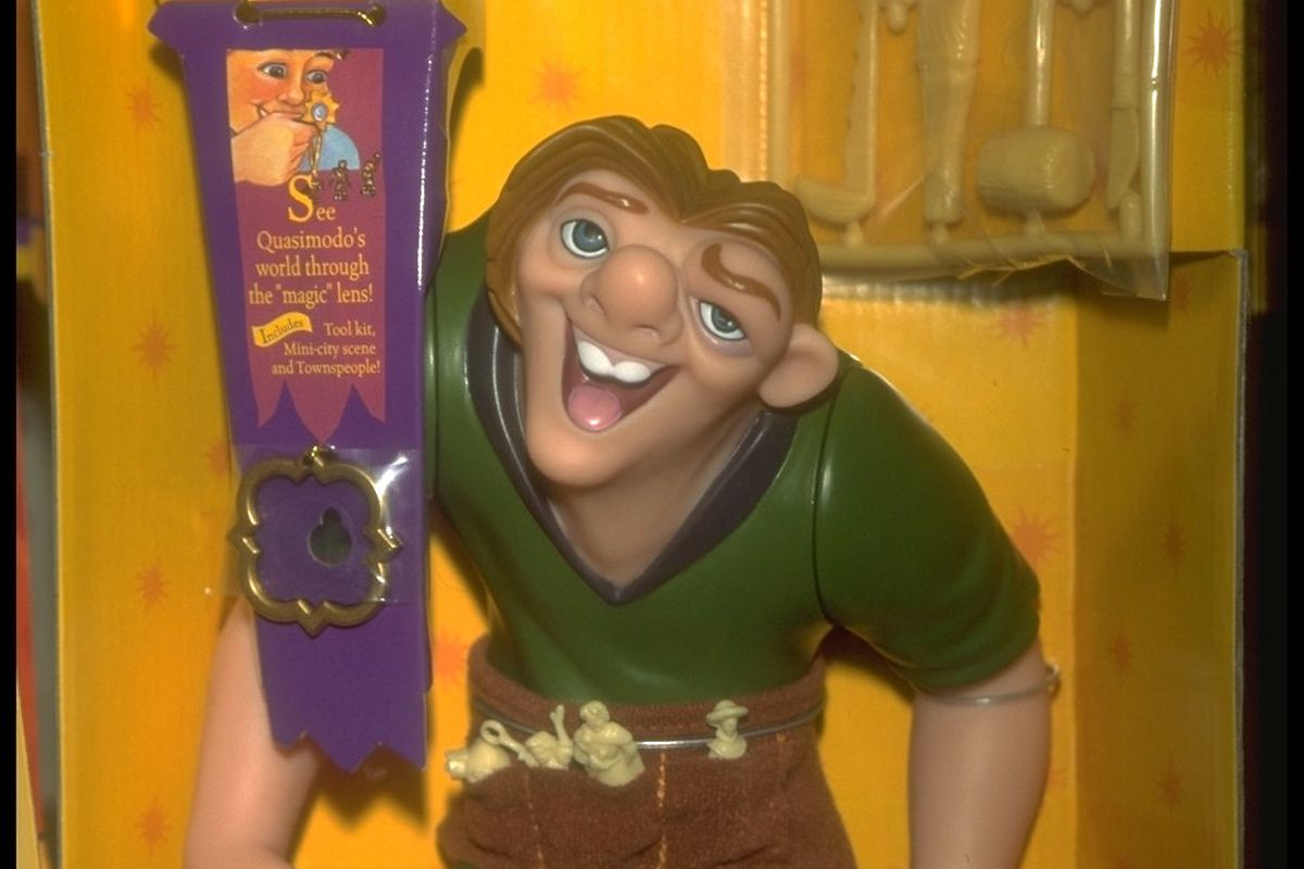 MERCHANDISING FOR 'THE HUNCHBACK OF NOTRE DAME'