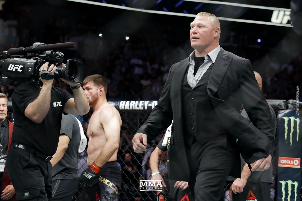 3499fbe8976 Morning Report  Dana White says Brock Lesnar thought Stipe Miocic would  beat Daniel Cormier