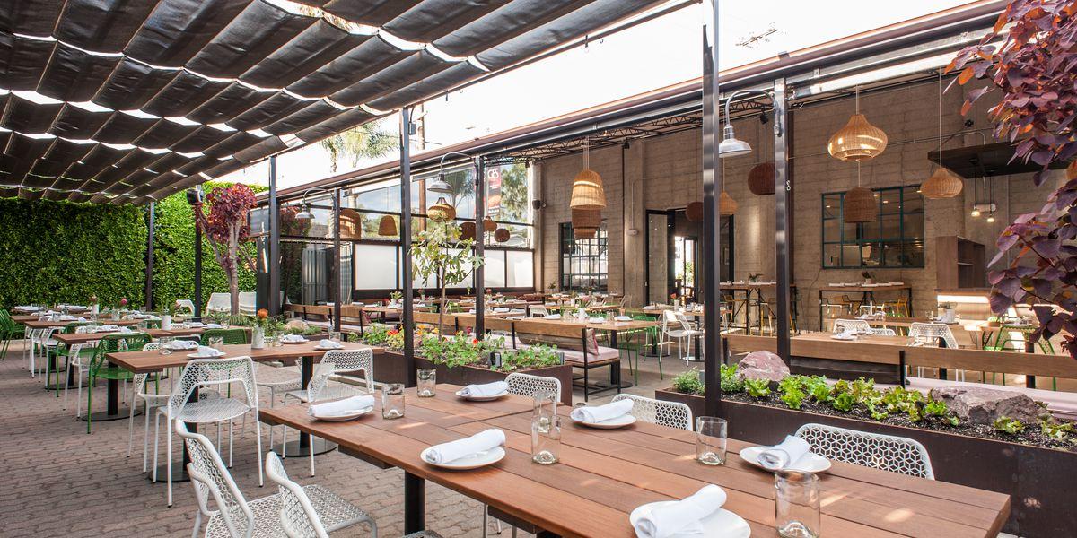 California Inspired Design Takes Over Restaurant Dining Rooms Eater
