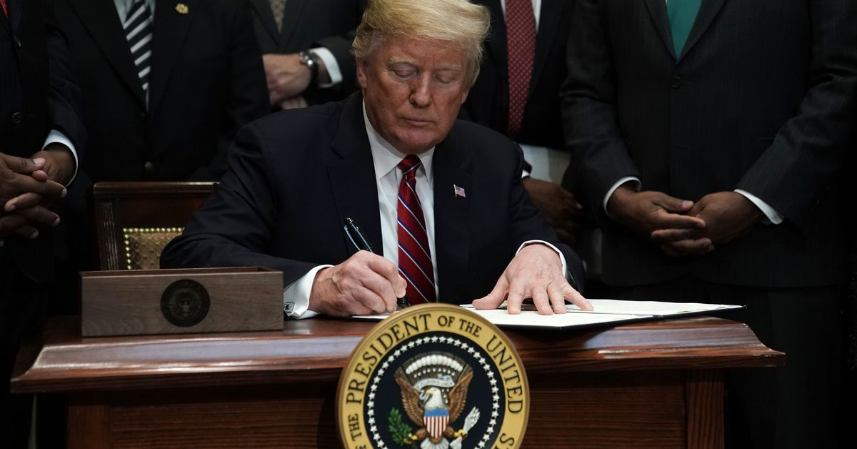 photo image Trump to launch 'American AI Initiative' later today