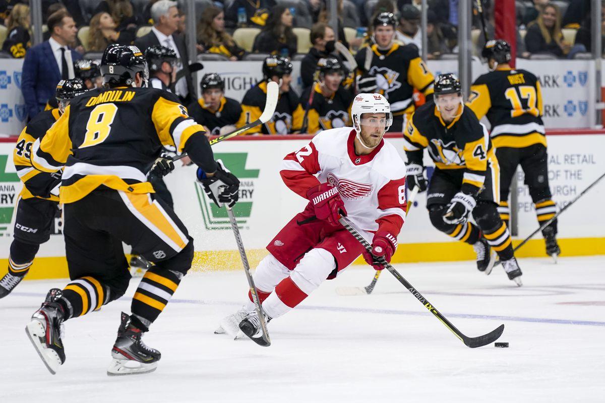 NHL: OCT 03 Preseason - Red Wings at Penguins