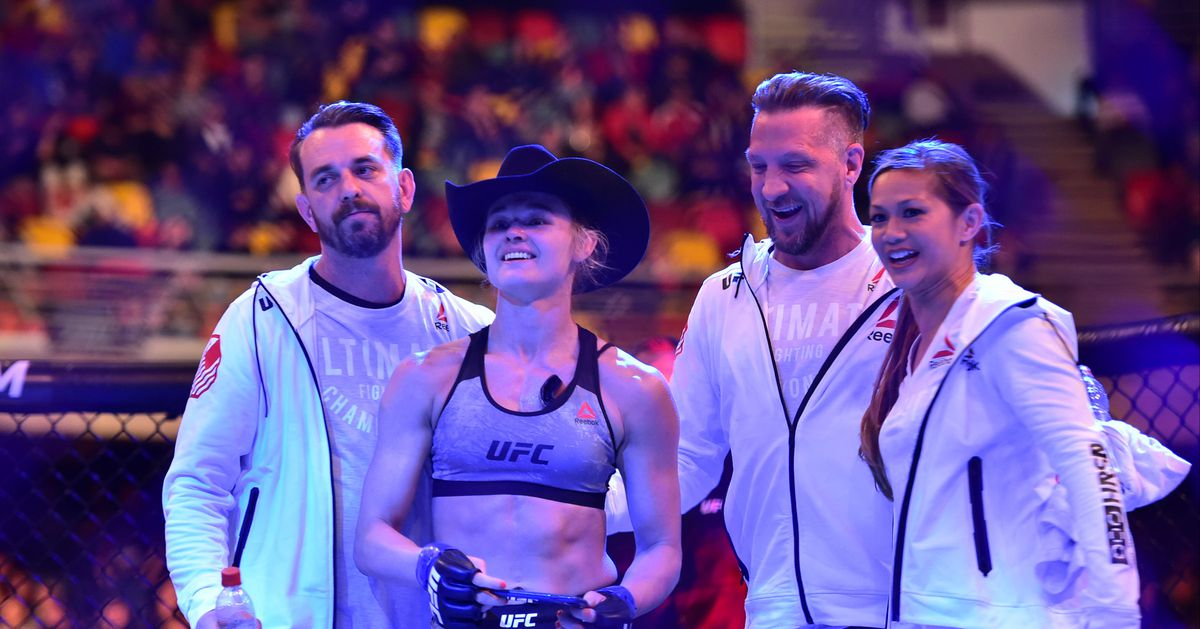 Arrest warrant issued for husband of UFC?s Andrea Lee following alleged domestic violence incident
