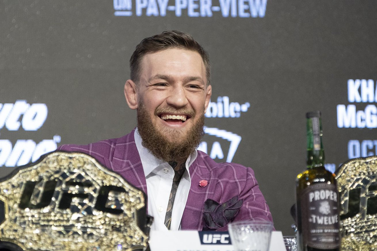 Conor McGregor faces Khabib Nurmagomedov at UFC 229.