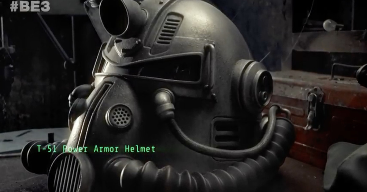 Fallout 76's collector's edition comes with a wearable power armor helmet