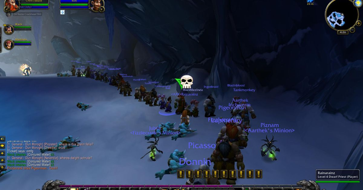 Image result for wow classic line
