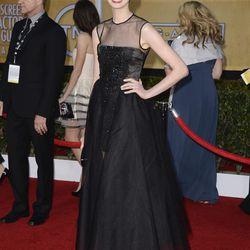 Anne Hathaway in Giambattista Valli Haute Couture.