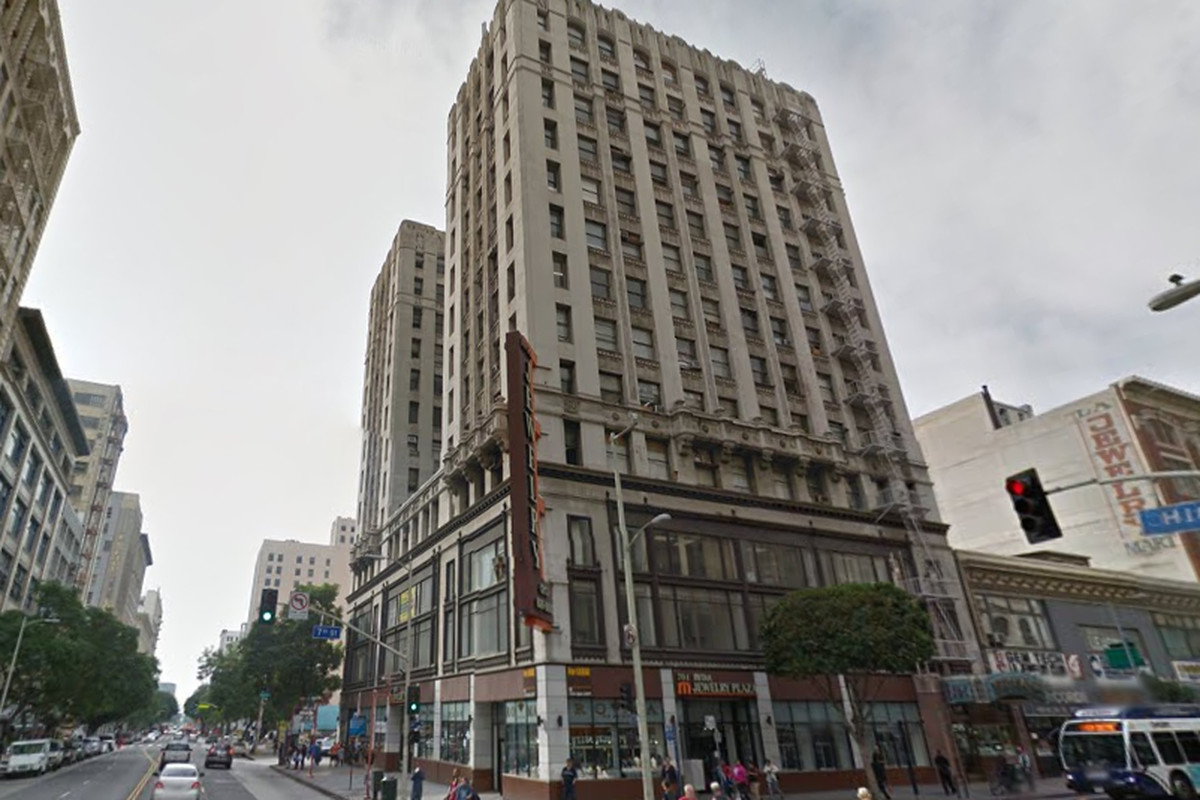 Future SBE Hotel in Downtown's Jewelry District