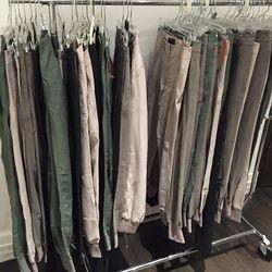 Harem pants, $75