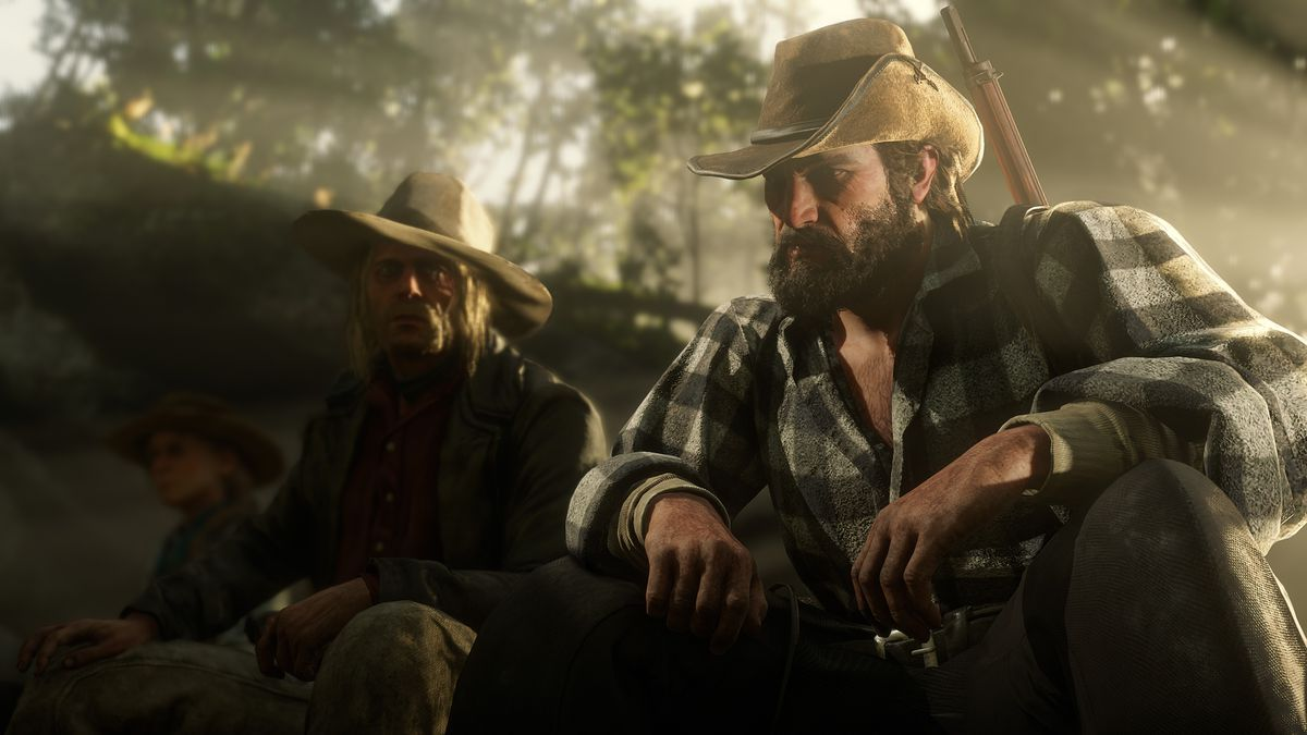 Red Dead Redemption 2 - Bill and Micah