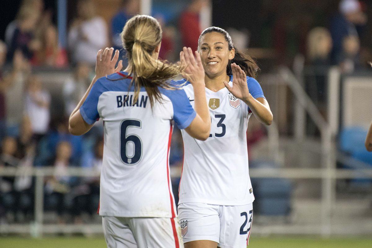 Soccer: International Friendly Women's Soccer-Romania at USA