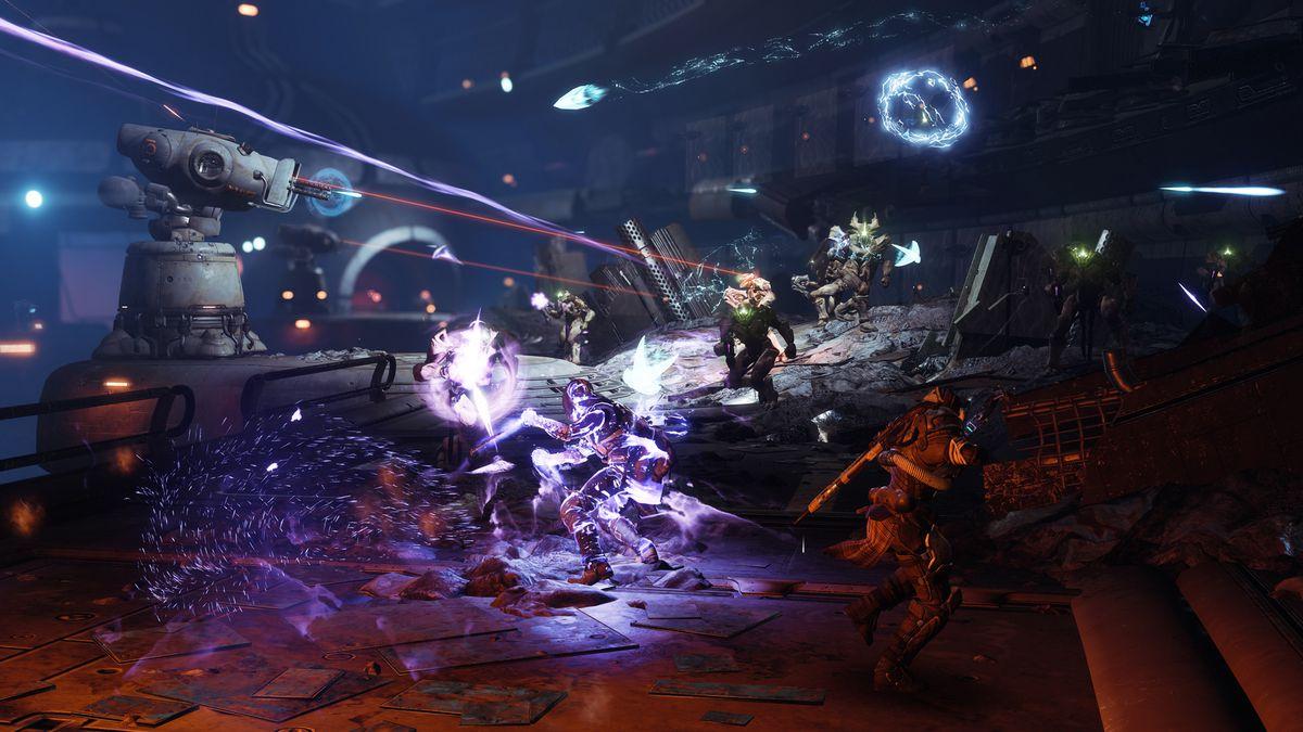 Destiny 2: Forsaken - action in the Prison of Elders