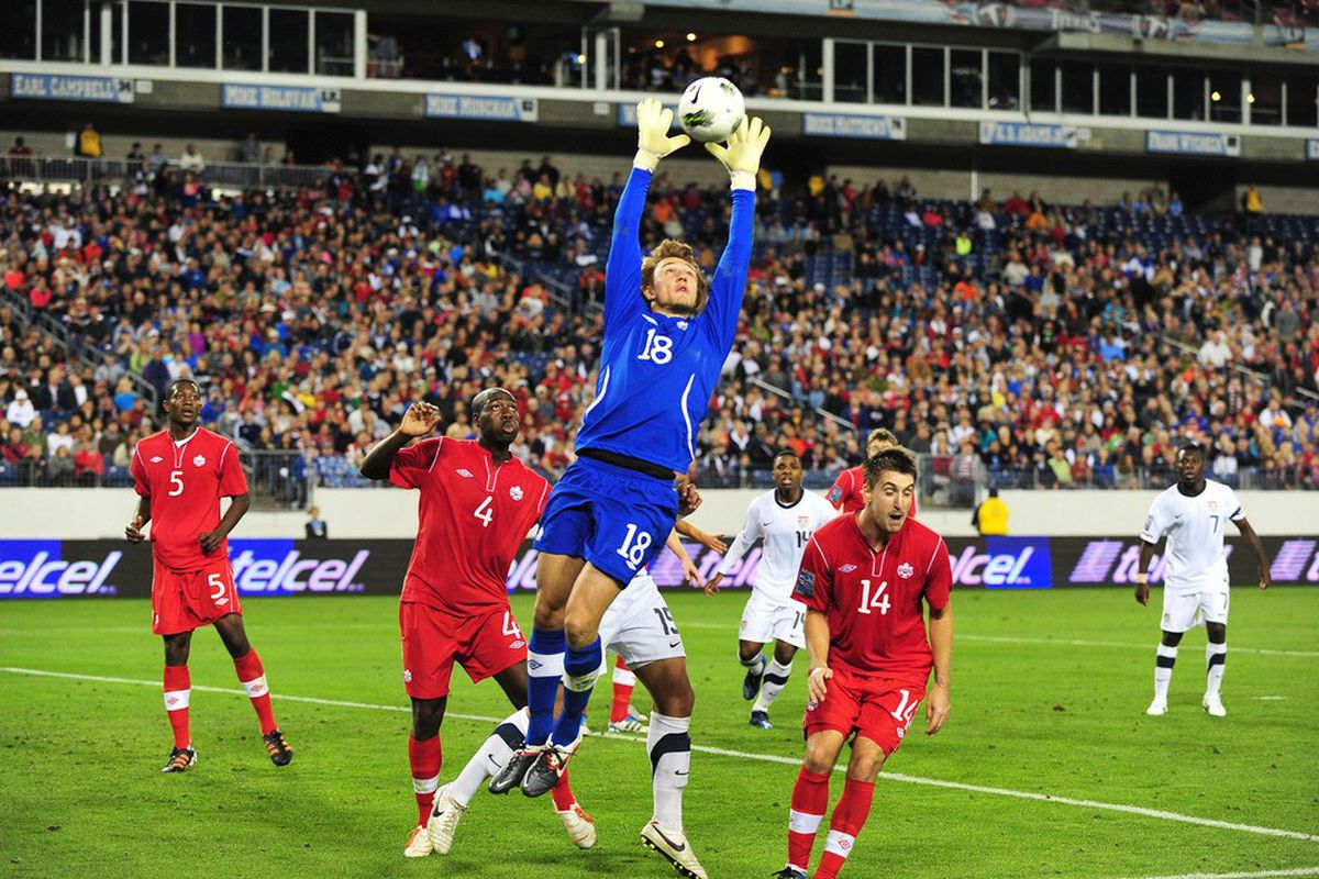 Michal Misiewicz allowed a 90th-minute goal to Cuba, which doesn't change the fact that Michal Misiewicz is amazing.