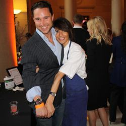 """Dominique Crenn and Blair Warsham, sponsored by Tokyo Bay. <a href=""""http://www.tokyobayinc.com/"""" rel=""""nofollow"""">Don't ask!</a>"""