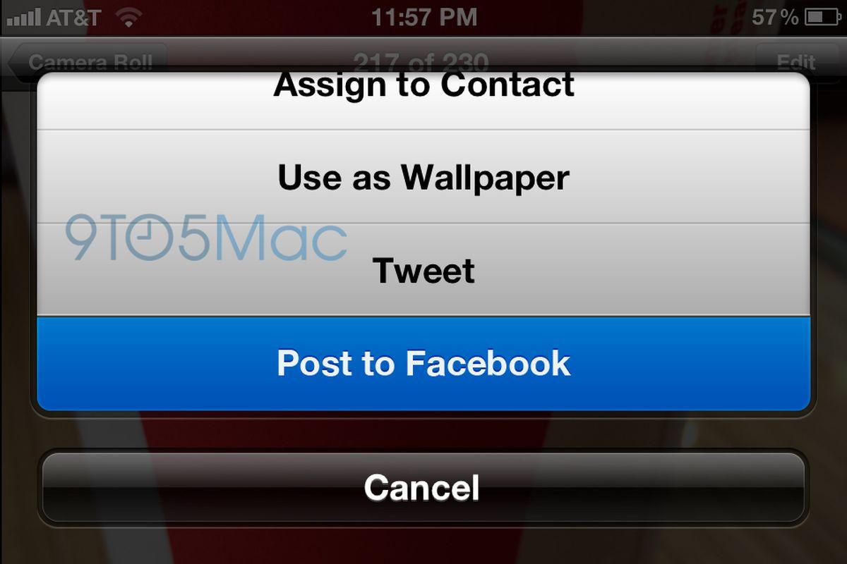 """via <a href=""""http://9to5mac.files.wordpress.com/2012/06/facebook_integration.jpg"""">9to5mac.files.wordpress.com</a>"""