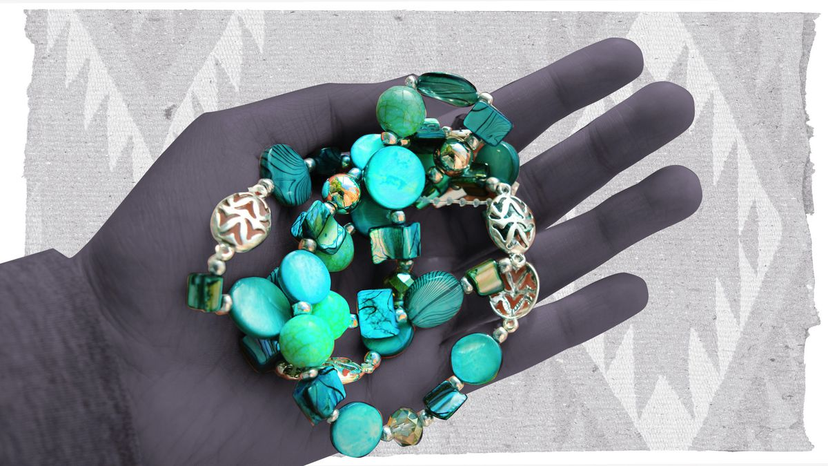 Fake turquoise jewelry hurts Native Americans economically - Vox