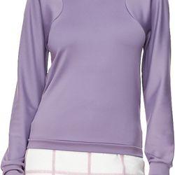 "Arc line long sleeve top, $150 (was $350) via <a href=""http://www.lyst.com/clothing/31-phillip-lim-arc-line-longsleeve-top-mauve-1/""> Lyst </a>"