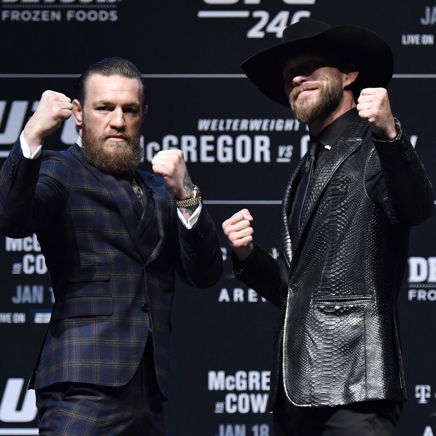 Ufc 246 Start Time Who Is Fighting Tonight At Conor Vs Cowboy In Las Vegas Mmamania Com