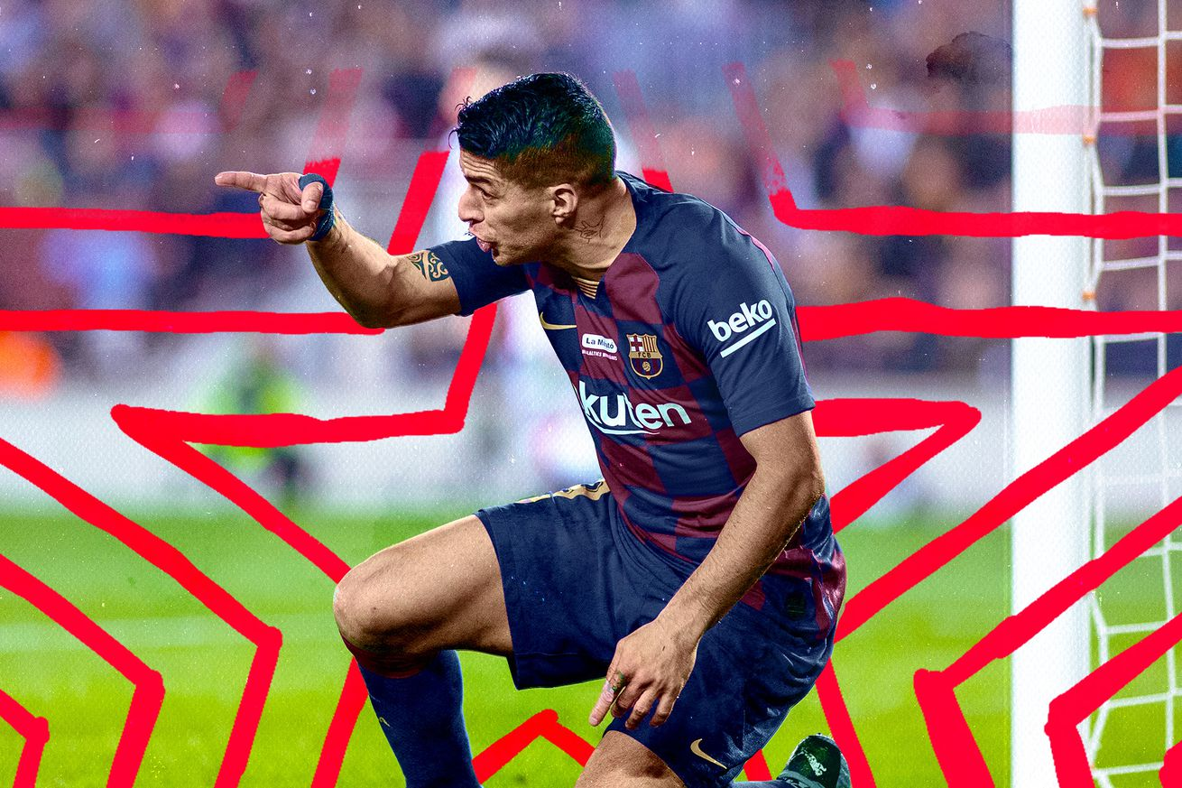 soccer  1 .0 - Luis Suarez reminded us how great he and Barcelona used to be
