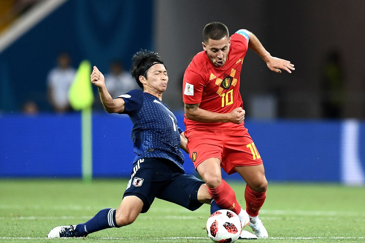 Belgium v Japan: Round of 16 - 2018 FIFA World Cup Russia
