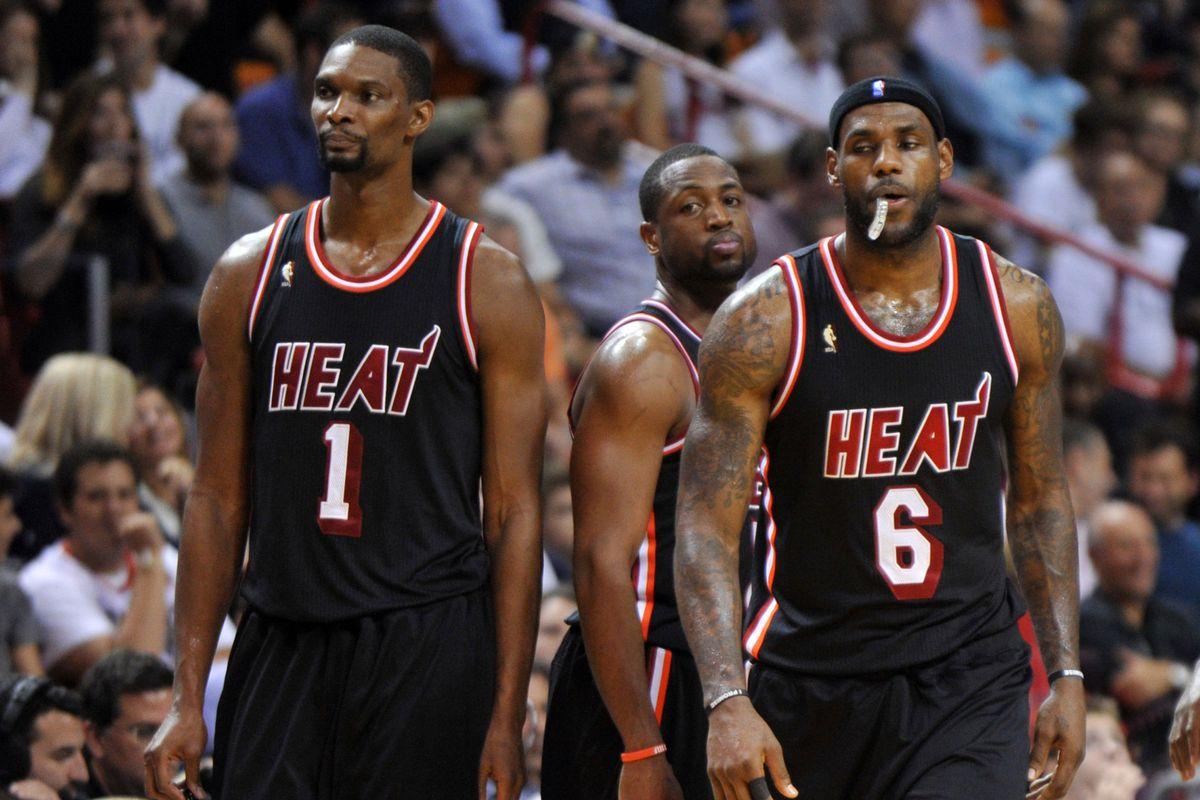 b3c2078a0cd LeBron James leads Miami Heat s quest for a three-peat - SBNation.com