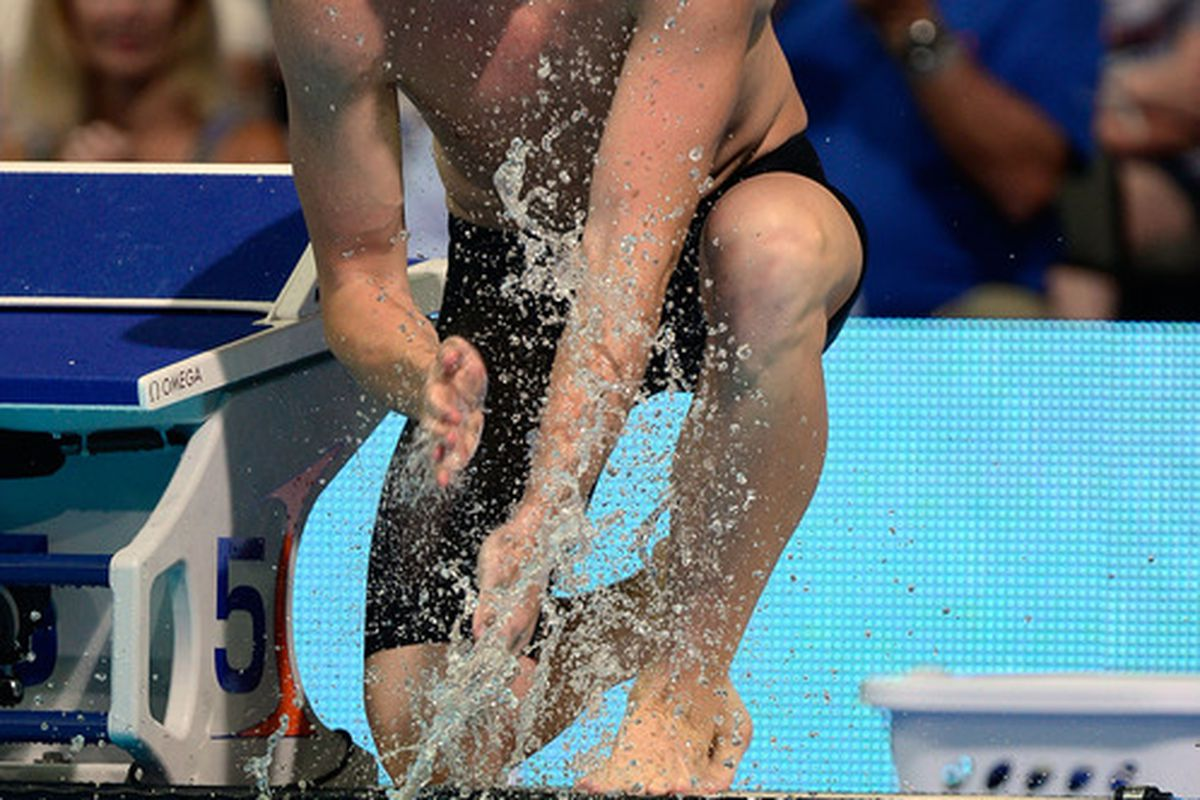 Former Virginia swimmer Matt McLean is one of three Cavaliers to call themselves an Olympic gold medalist in a swimming event!