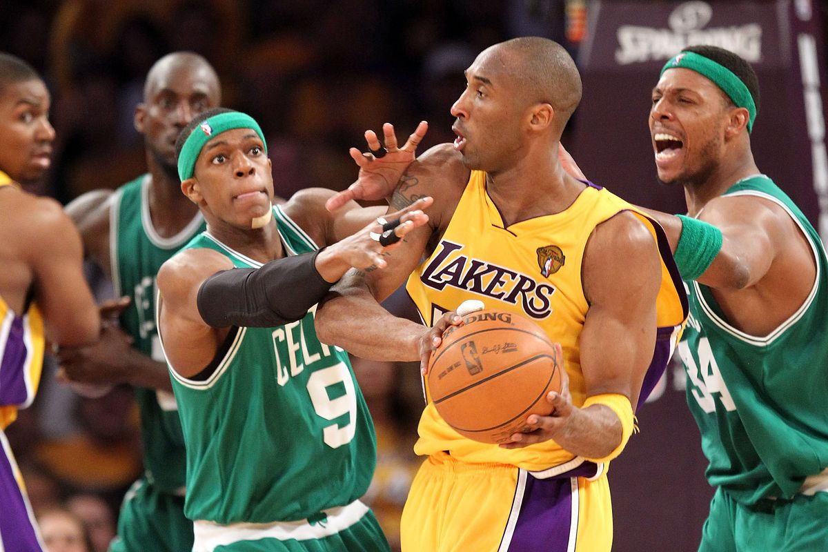 89d0f7e01bf Rajon Rondo  pissed  to learn how Kobe Bryant beat the Celtics in 2010 NBA  Finals game seven